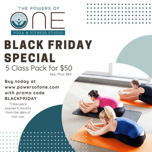 Give the gift of yoga to someone you love - yourself included!