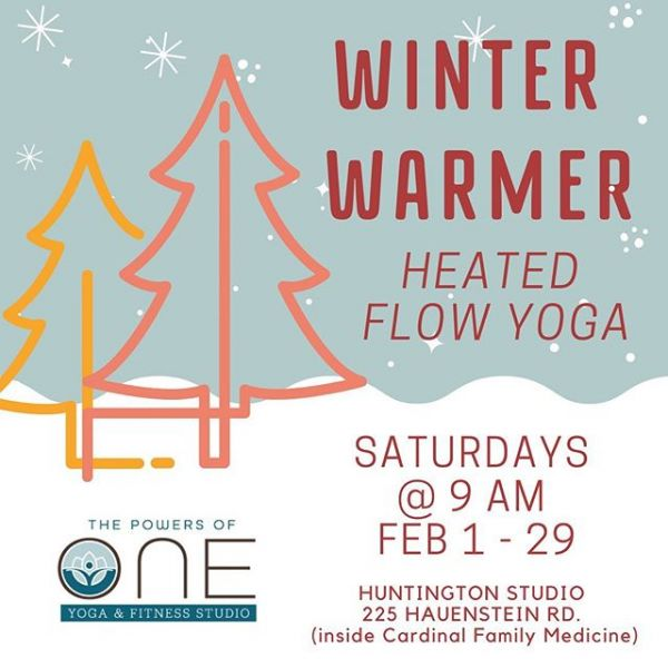 We figured this snowy Saturday would be the perfect time to let you know that our Winter Warmer class is coming back to Huntington and it starts Feb. 1!