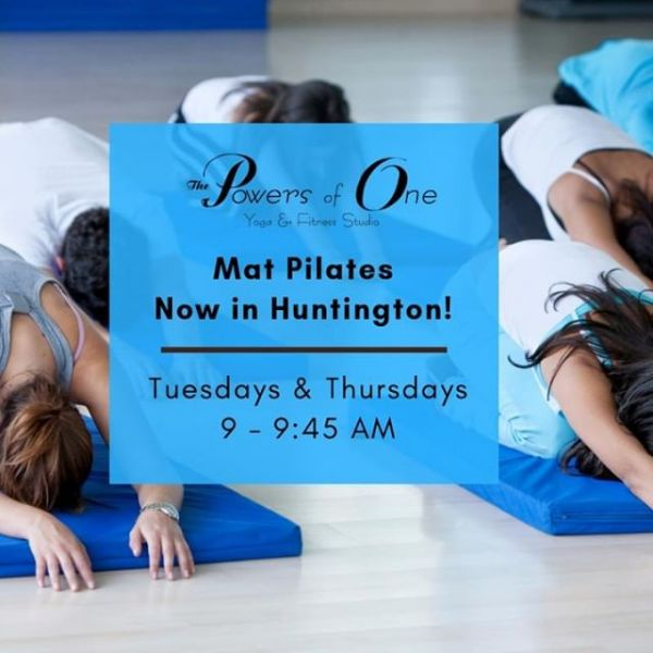 Don't forget that Mat Pilates starts this week in Huntington! See you there! ✌️⠀ #Powersofone #powersofoneyoga #huntingtonindiana #matpilates #newyearnewclass