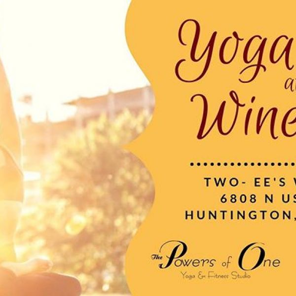 Valerie is teaching Yoga at the Winery at @twoeeswinery tomorrow and we can't wait!