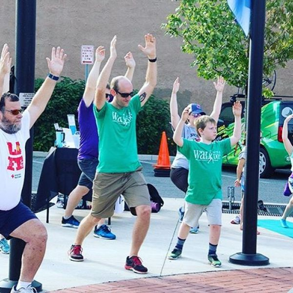 "We can't wait to ""Walk with a Doc"" this Saturday! Join us Oct. 5 at 10AM at the Forks of the Wabash for a brief outdoor yoga session and a fun walk with our friends from @cardinalfammed to enjoy the great outdoors! Just bring your mat and a pair of walking shoes and we will look forward to seeing you there!"