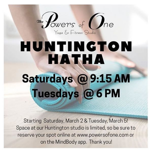 New classes coming to Huntington!