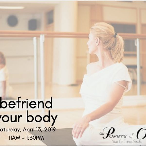 We all have body image issues. That little (yet very loud) voice in our head that tells us we aren't good enough, that our bodies aren't good enough... Join licensed therapist and yoga instructor, Bethany Pruitt, to learn how to address those negative thoughts while creating LOVE & APPRECIATION for the body you have! ❤️ *pre-reg by 4/10 at www.powersofone.com