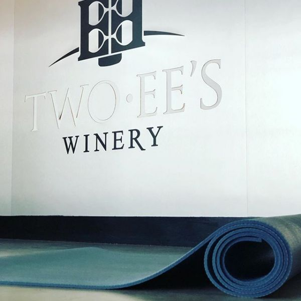 Counting down until we get to roll out our mats again for another Yoga at the Winery with our friends at @twoeeswinery on July 22!
