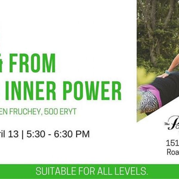 Only a week away! Spots are still available to join @yogafruchey for this ✨powerful✨ class at Powers of One! Head over to www.powersofone.com to reserve your spot!  #powersofone #powersofoneyoga #innerpower #yoga #roanoke